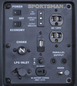 Panel of the Sportsman GEN2200DFi
