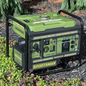 The Sportsman GEN4000iOF in use