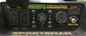 Panel of the Sportsman GEN9000DF