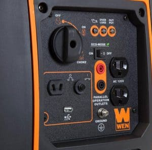 Panel of the WEN 56200i
