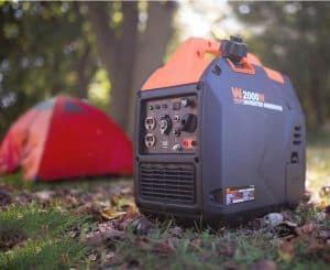 Picture of the WEN 56203i inverter generator