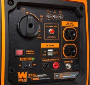 Panel of the WEN 56225i
