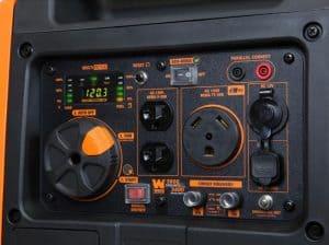 Panel of the WEN 56380i