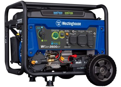 Picture 1 of the Westinghouse WGen3600DF