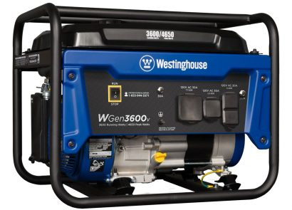 Picture 1 of the Westinghouse WGen3600v