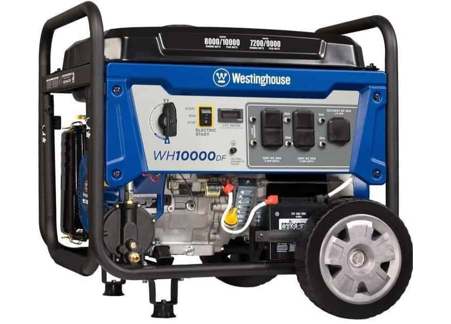 Westinghouse Wh10000df 10000w Dual Fuel Generator Spec Review