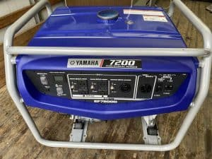 The Yamaha EF7200D in use