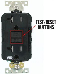 Duplex 5-20R GFCI outlet