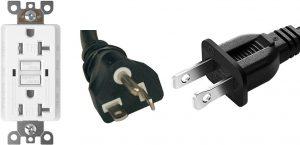 duplex 5-20r gfci, 5-20p plug, 1-15p plug