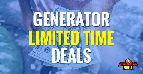 generator deals limited time offers featured image