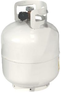 picture of a 20 lbs propane tank