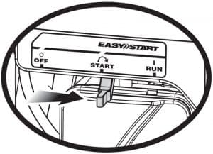 ryobi easystart starting mechanism