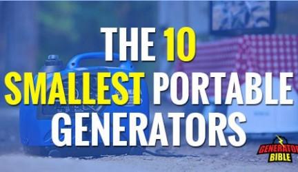 The Top 10 Smallest Portable Generators