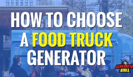 A Guide to Choosing a Portable Generator for Food Truck Owners